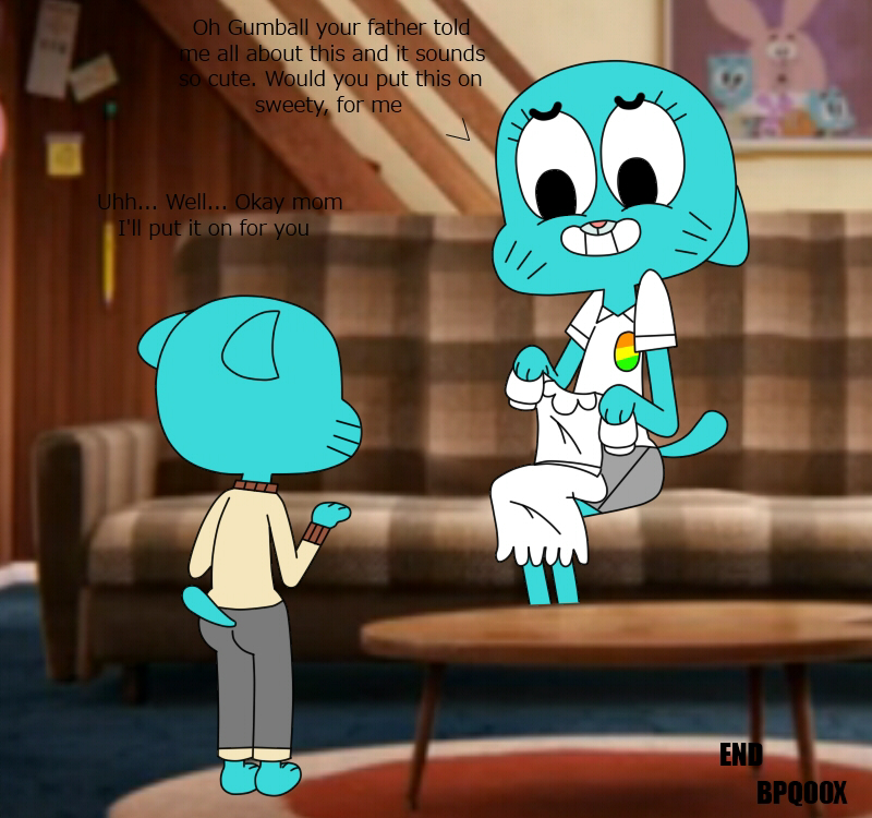 alan amazing of world gumball the Strawinsky and the mysterious house.