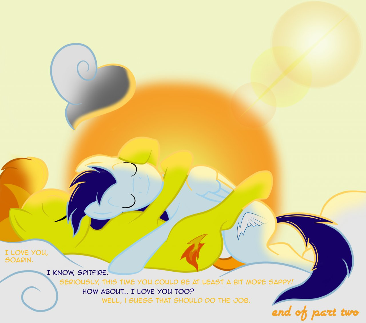 from little spitfire my pony Rainbow dash and vinyl scratch