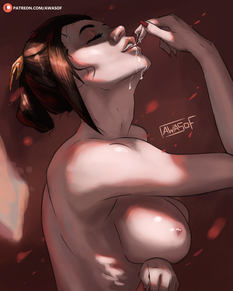 the nipples the eyes are face of the Shadbase breaking the quiet 2