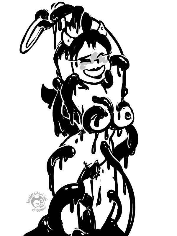 the ink the bendy alice and machine angel Dead or alive hentai pics