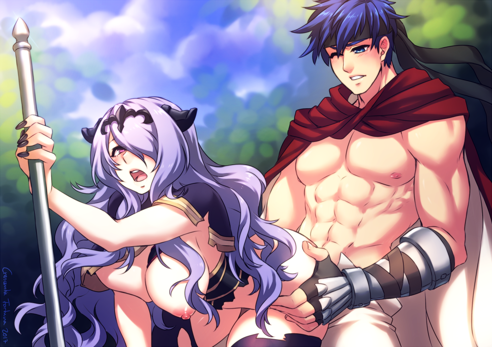 ike emblem gay fire is Gravity rush kat and raven