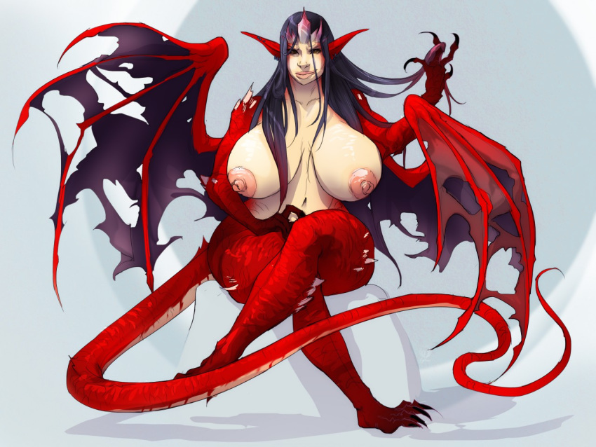 with anime tail dragon girl The gamer witch of slaughter