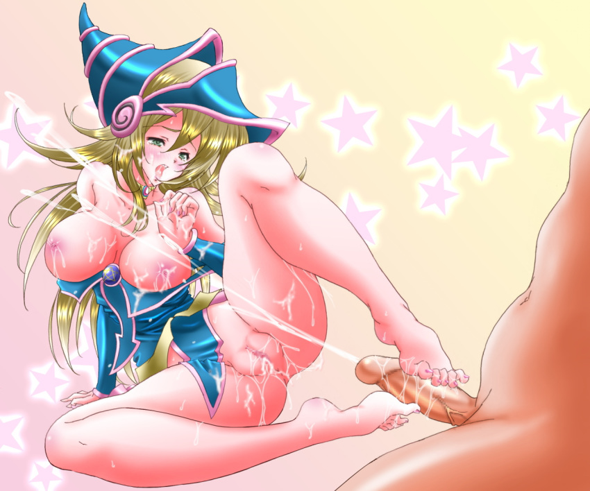 ass dark magician girl hentai Statue of liberty kissing lady justice