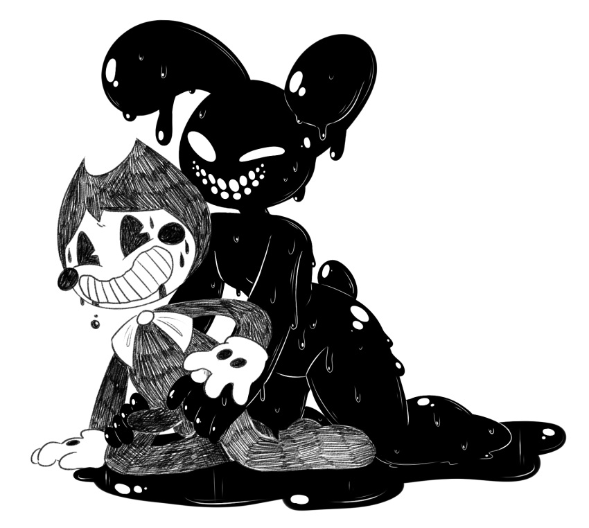 bonnie spring and fnaf fredbear The queen of the black puddle
