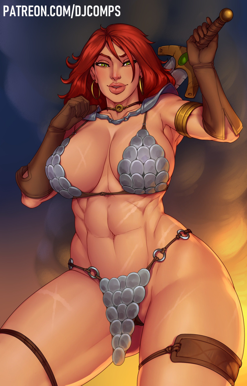 monika red vs sonja red King of fighters mai gif