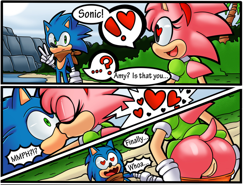 how is sonic amy from old Scooby doo abracadabra doo madelyn