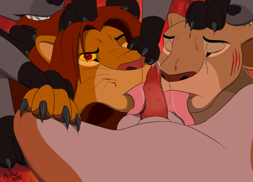 the king pregnant lion nala Trials in tainted space dane